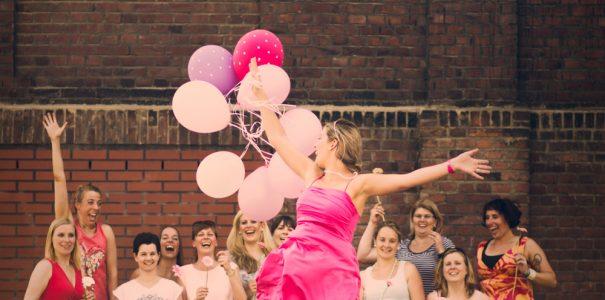 JGA: Kathi & Ballons